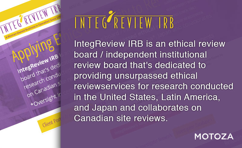 IntegReview IRB